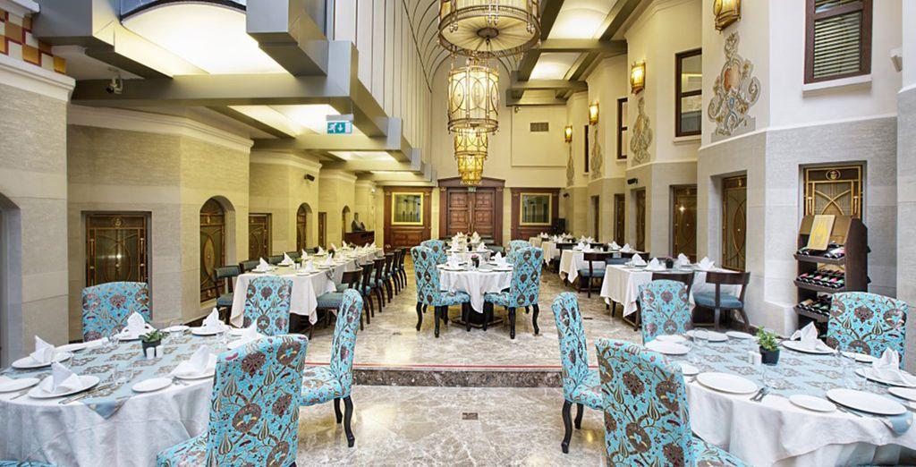 Pruebe la deliciosa gastronomía turca...