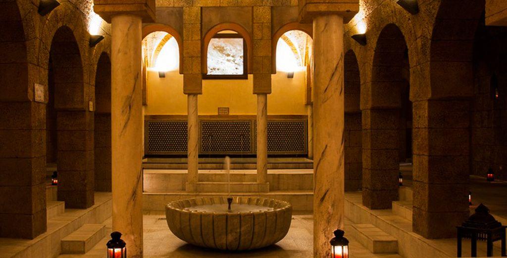 Baños Arabes Tartessus Chiclana:Bienvenido a uno de los baños árabes más grandes de Europa