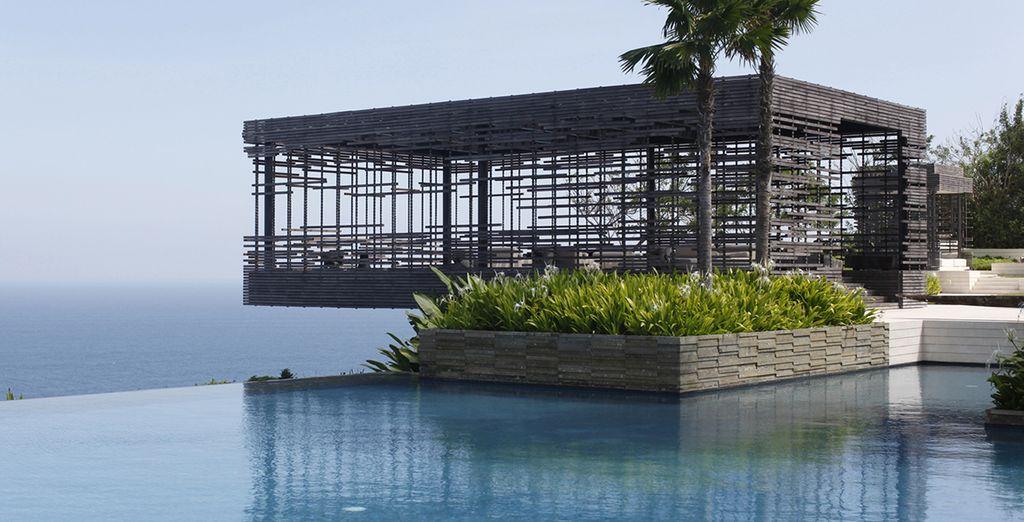 La Villa De Luxe Moderne Se Devoile : Alila villa uluwatu luxe voyage priv� jusqu à