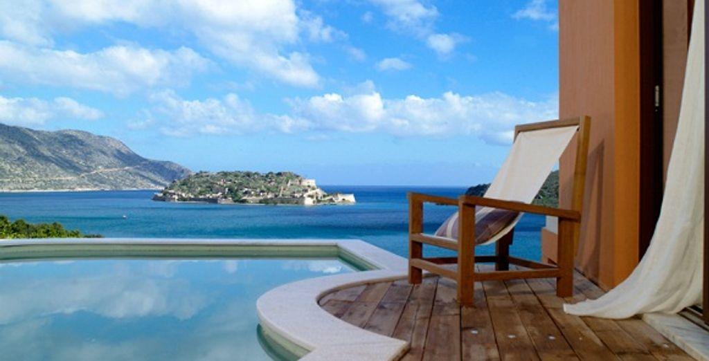 Domes of elounda luxe voyage priv jusqu 39 70 - Hotel chambre avec piscine privee ...
