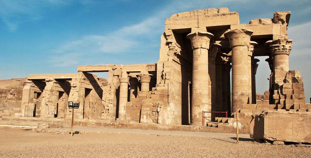 Le temple ptolémaïque de Kom Ombo...