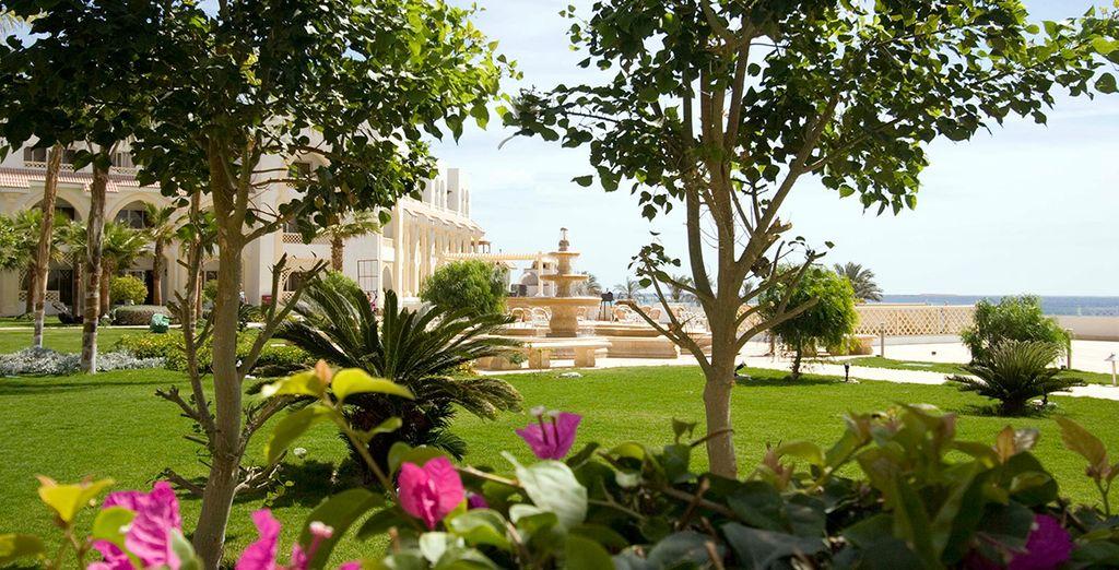 Dans un cadre verdoyant - Hôtel Old Palace Resort 5* ou Combiné Croisière Passion du Nil & Hôtel Old Palace Resort 5* Hurghada