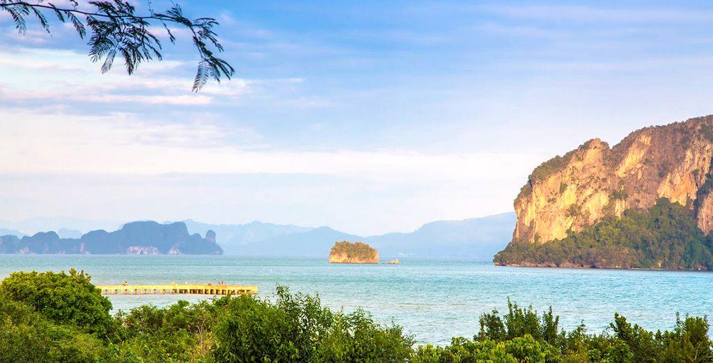 Immergez-vous entre mer et jungle sur cette île paradisiaque