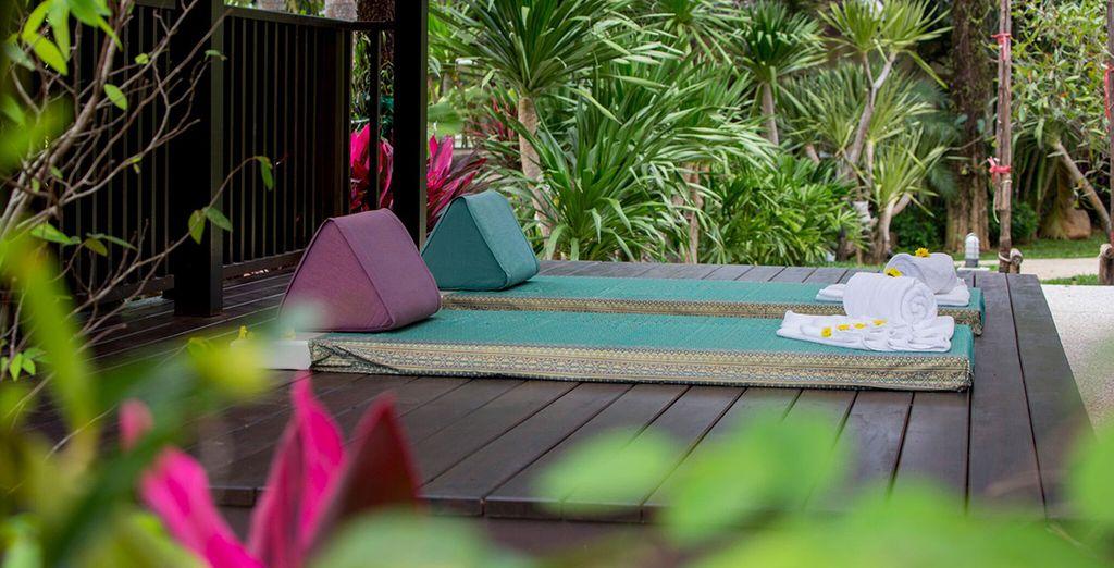 Vous goûterez aux bienfaits du massage thaï