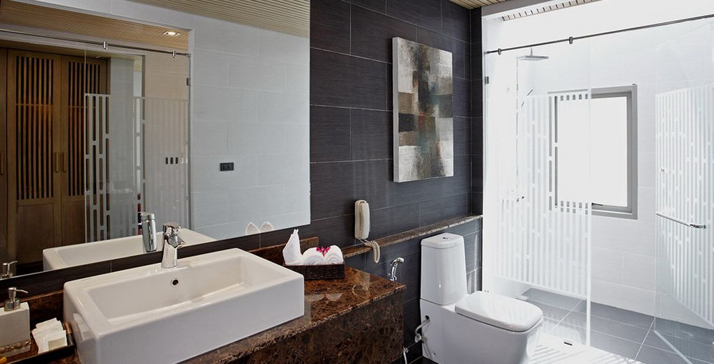 Moderne jusque dans la salle de bains