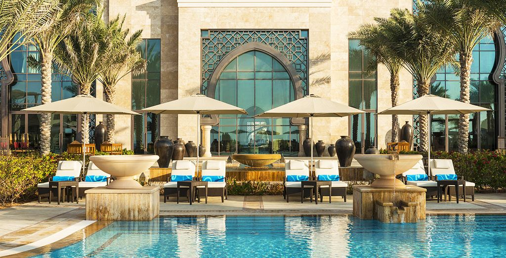 Bienvenue à l'hôtel Ajman Saraï, A Luxury Collection Resort 5*  - Hôtel Ajman Saray 5*, a Luxury Collection Hotel & Resort Ajman City