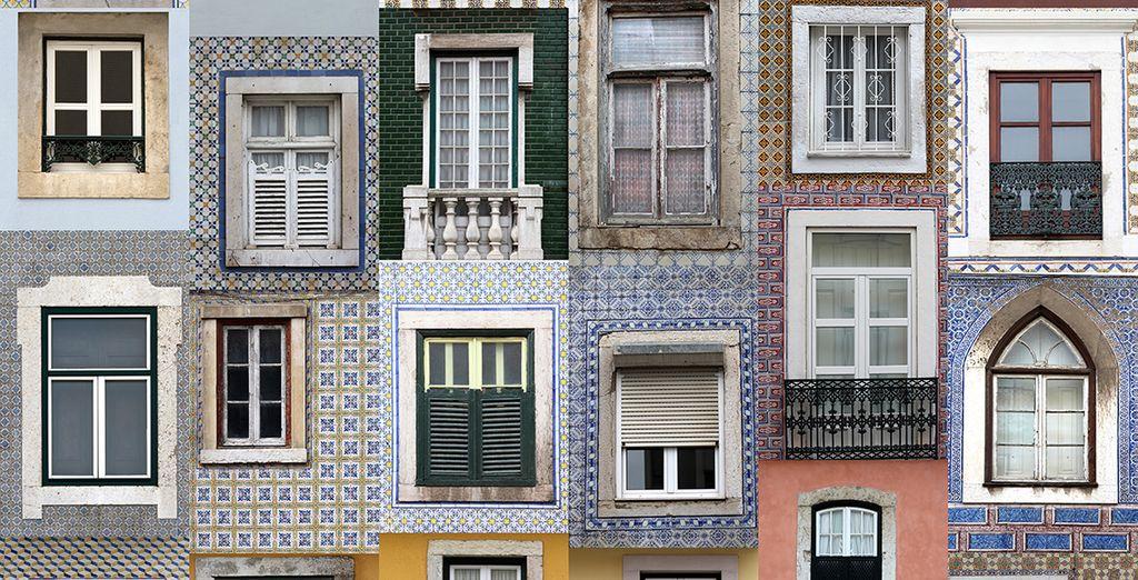 Ses petites maisons typiques