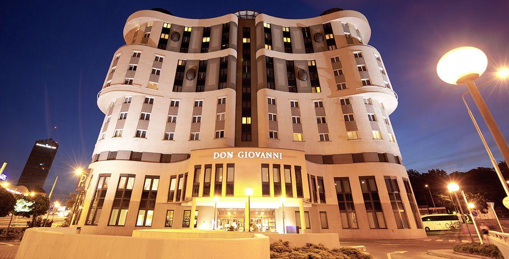 Un hôtel 4* situé dans un quartier vivant et animé - Don Giovanni 4* Prague