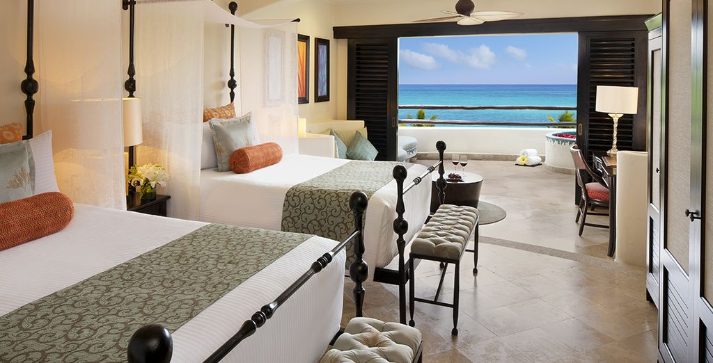 Ou en Junior Suite Partial Ocean View