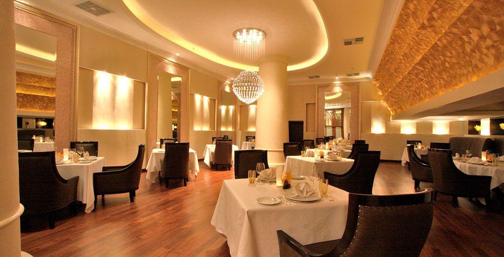 Des 8 restaurants de l'hôtel
