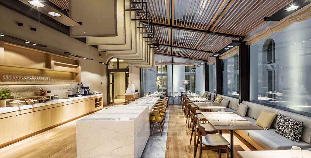 Le restaurant vous proposera une cuisine internationale