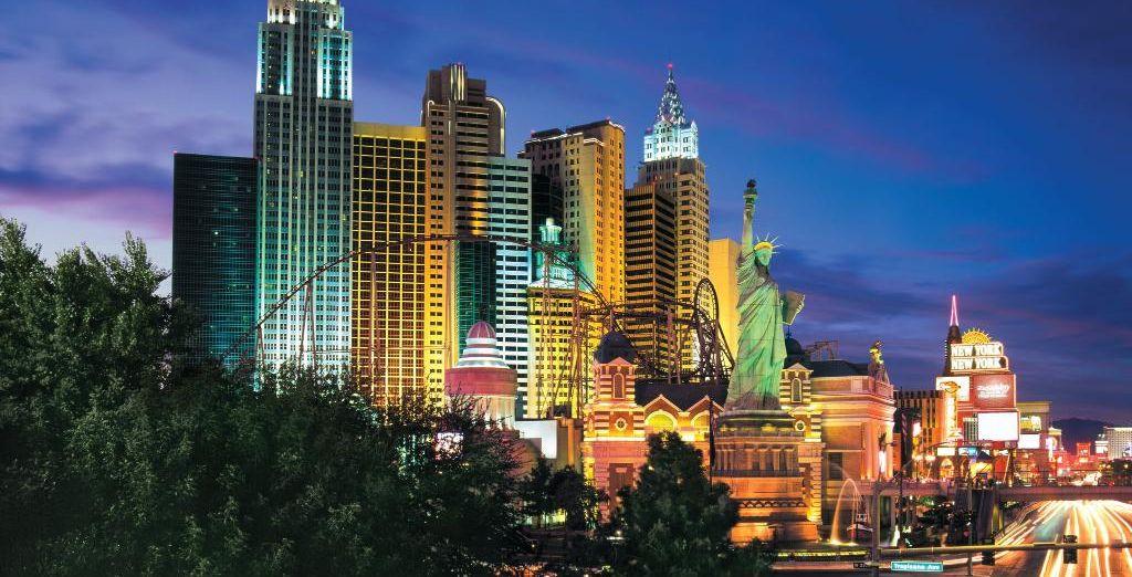 Depuis votre établissement 4* New York-New York Hôtel & Casino