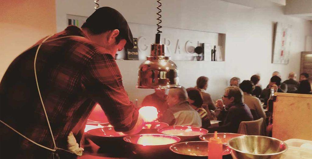 Restaurant gastronomique le garage fabien morreale voyage priv jusqu 39 70 - Restaurant garage martigues ...