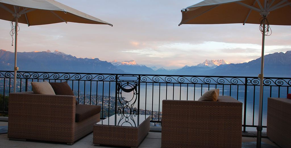Mont-Pelerin Switzerland  City pictures : Good stay in this beautiful setting with stunning views ...