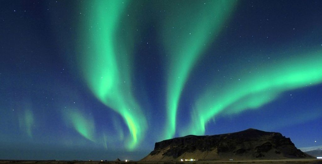 Prepare for a Reykjavik Northern Lights short break with a difference - Northern Lights from Glacier Lagoon 4* Reykjavik