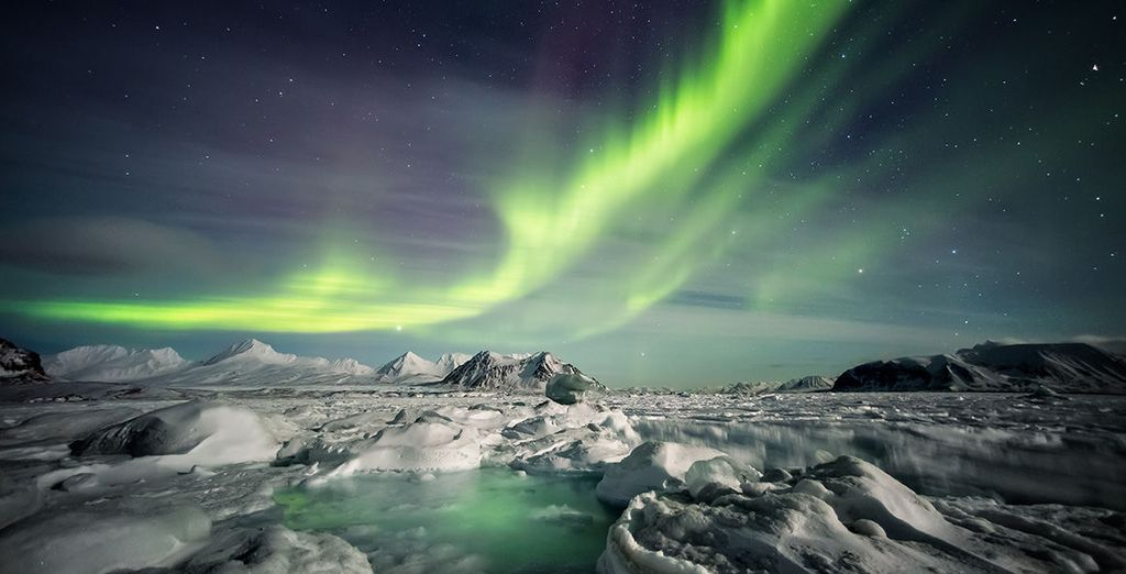 Which includes a Northern Lights hunt - one of the world's most famous natural wonders