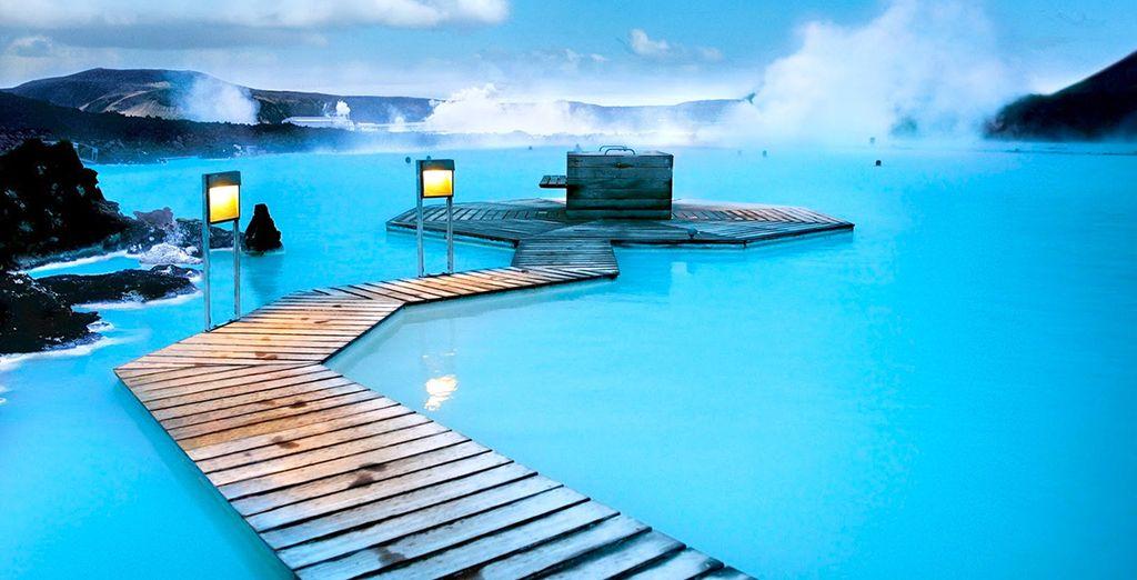 Bathe in the steamy Blue Lagoon - Northern Lights & Blue Lagoon Escape Reykjavik