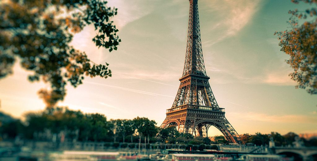 In the iconic city of Paris