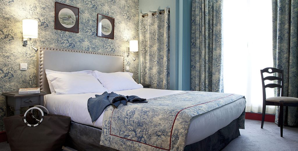 Where you'll find individually styled rooms