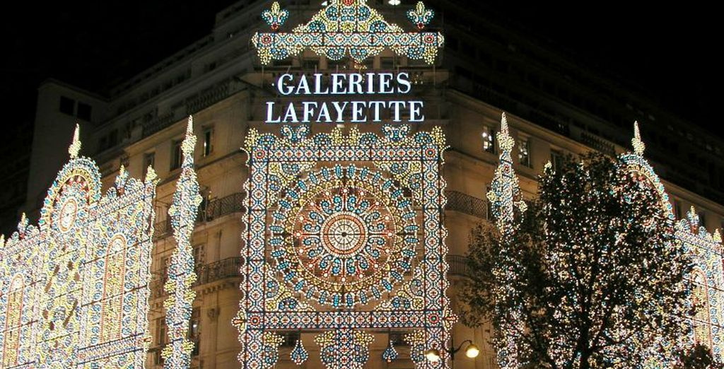 And shopping haven Galeries Lafayette