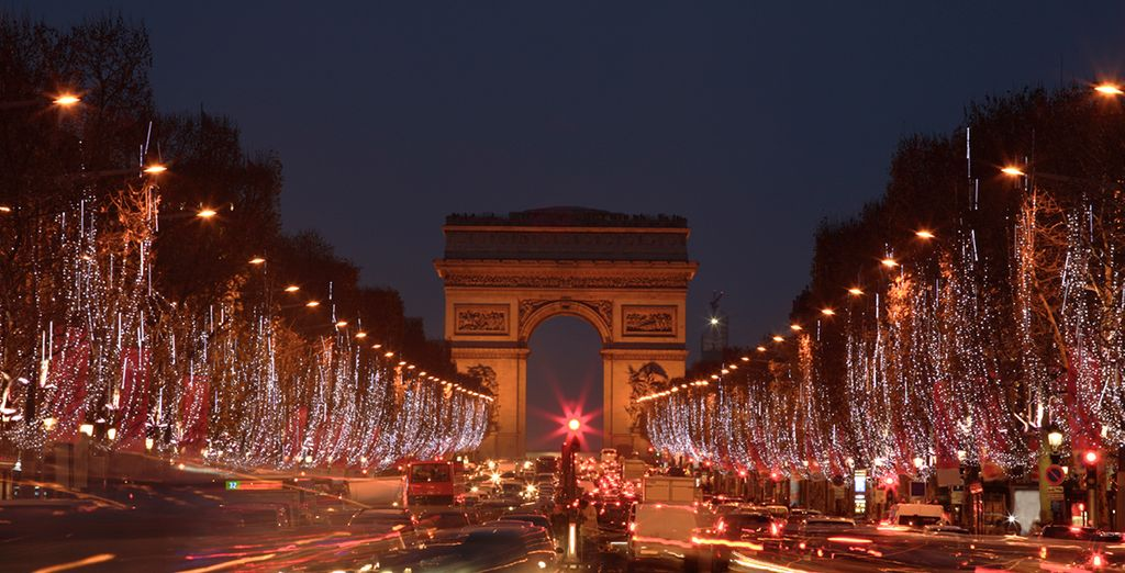 The city of lights is in its prime over the festive period!