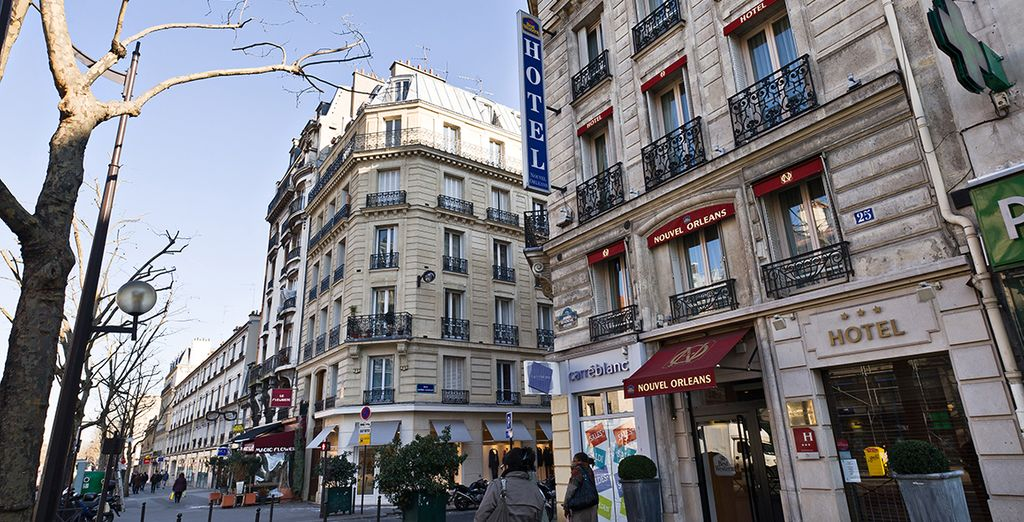 Best western nouvel orleans montparnasse paris 4 voyage priv up to 70 - Nouvel hotel paris 12 ...