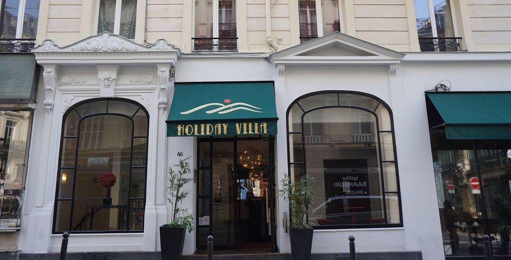 Hotel villa lafayette paris ix 4 voyage priv up to 70 for Hotel ideal paris