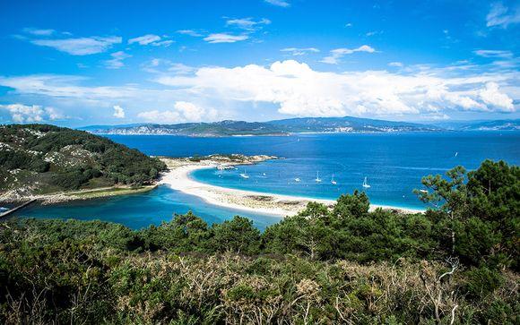 España Vigo - Hotel Axis 4* y opción con barco a Islas Cíes desde 68,00 ?