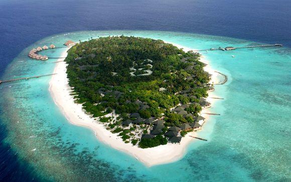 Maldivas Raa Atoll Adaaran Select Meedhupparu 4* desde 1.719,00 €