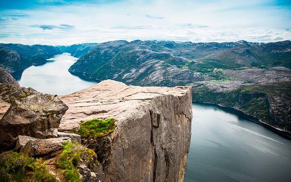 Noruega Stavanger  Fiordos al completo con 2 noches en Estocolmo desde 1.496,00 €