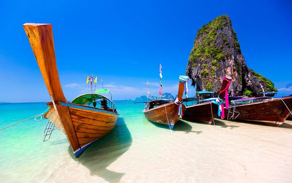 Mandarin Hotel by Centre Point 4* y Krabi Resort 4*