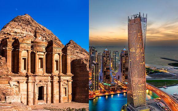 Circuit francophone en Jordanie & Extension Dubaï en 7 nuits