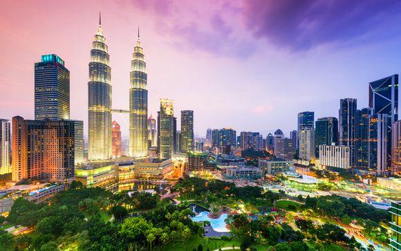 Circuit à la découverte de la Malaisie et stopover à Dubai