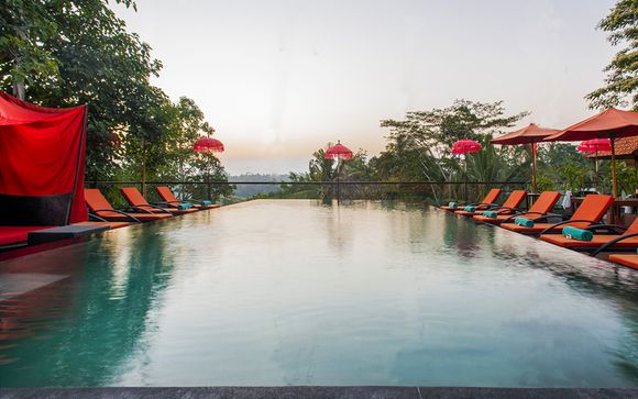 Kupu Kupu Jungle Retreat Ubud 4* avec escale possible à Dubaï