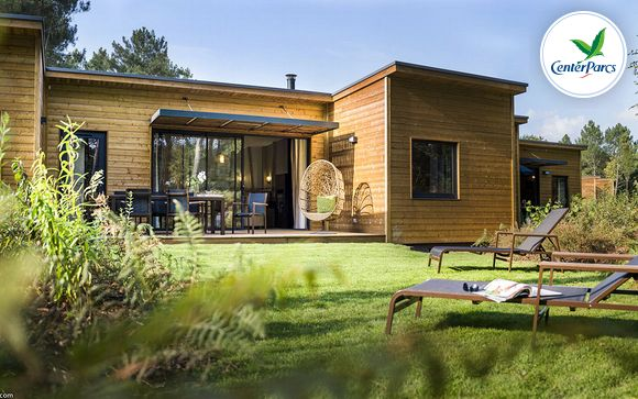 France Morton - Center Parcs Domaine du Bois aux Daims - Cottage Premium à partir de 259,00 €