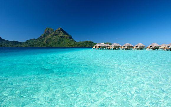 Combiné 3 îles en Polynésie : Manava Suite Resort 4*, Moorea Pearl Resort 4* et Bora Bora Pearl Beach Resort & Spa 4*sup