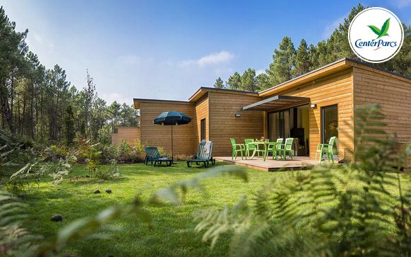 France Morton - Center Parcs Domaine du Bois aux Daims - Cottage Comfort à partir de 239,00 €