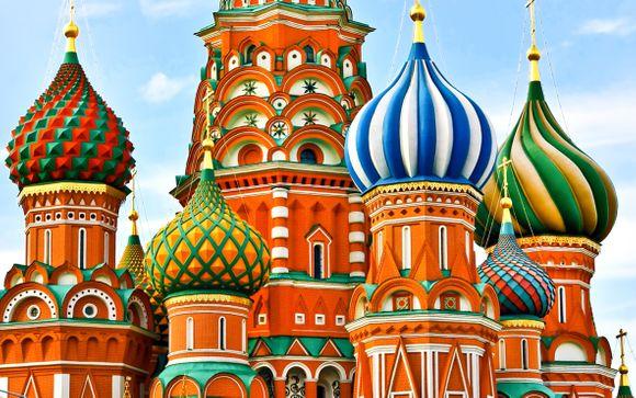 Combinato Mosca & San Pietroburgo in 5*