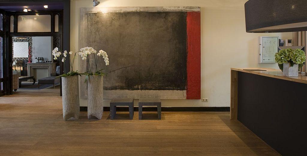Willkommen im stilvollen Hotel Vondel