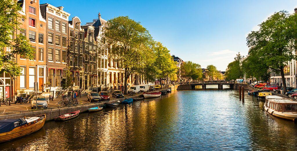Entdecken Sie die ungezwungene Schönheit Amsterdams