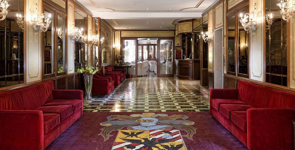 In diesem venetianischen Palast