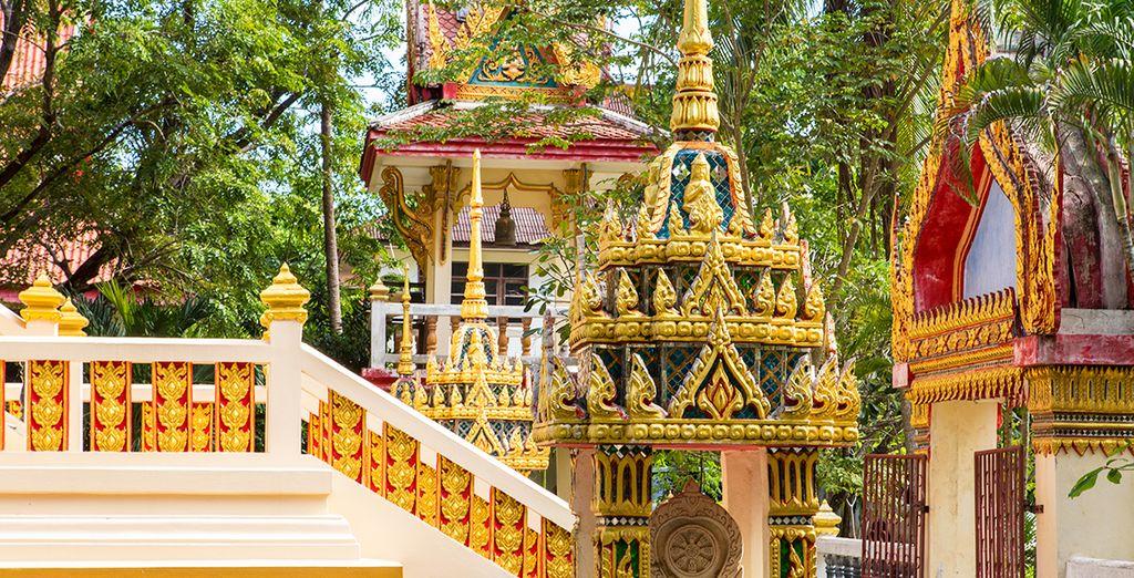 Besichtigen Sie heilige Tempel