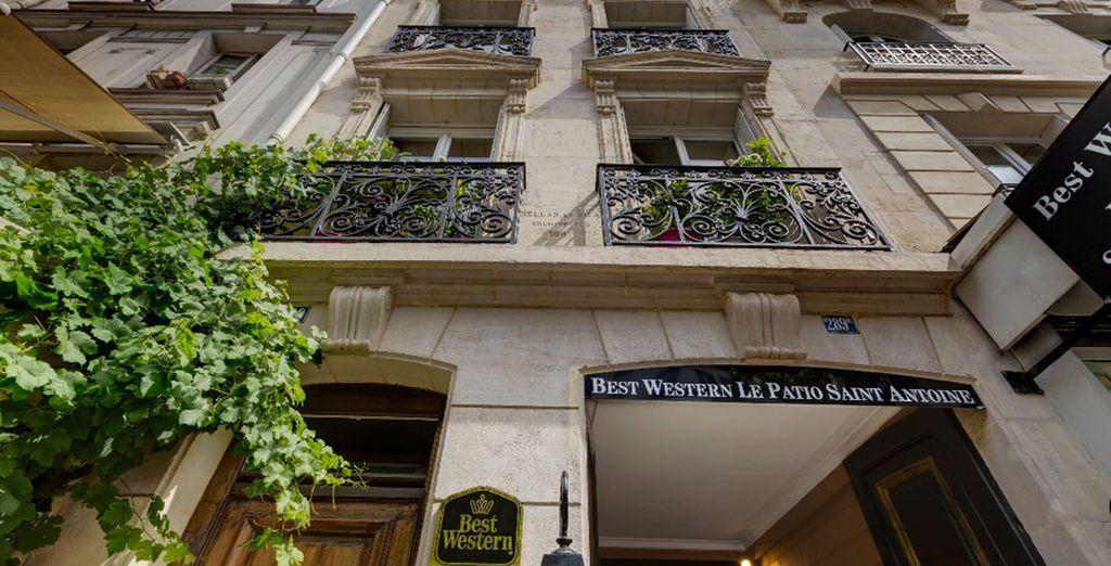 Wir heißen Sie herzlich willkommen im Best Western Hotel Le Patio Saint Antoine!