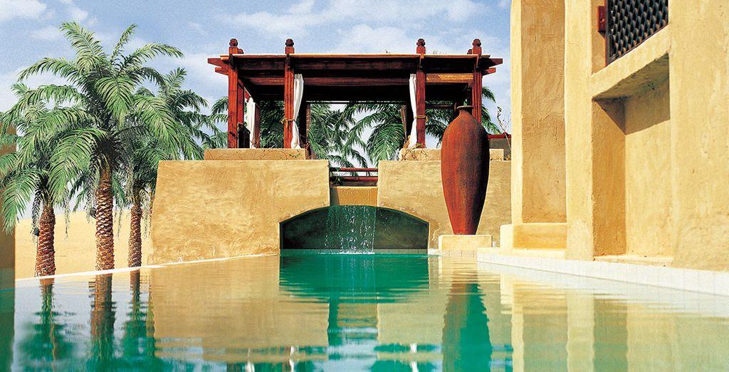 Sie übernachten im Bab Al Shams Resort & Spa
