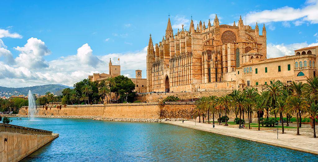 In weniger als einer halben Stunde sind Sie in Palma de Mallorca