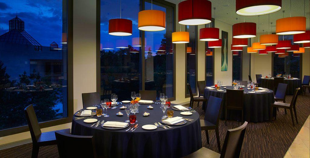 Geniessen Sie das internationale Frühstücksbuffet im Goya Restaurant