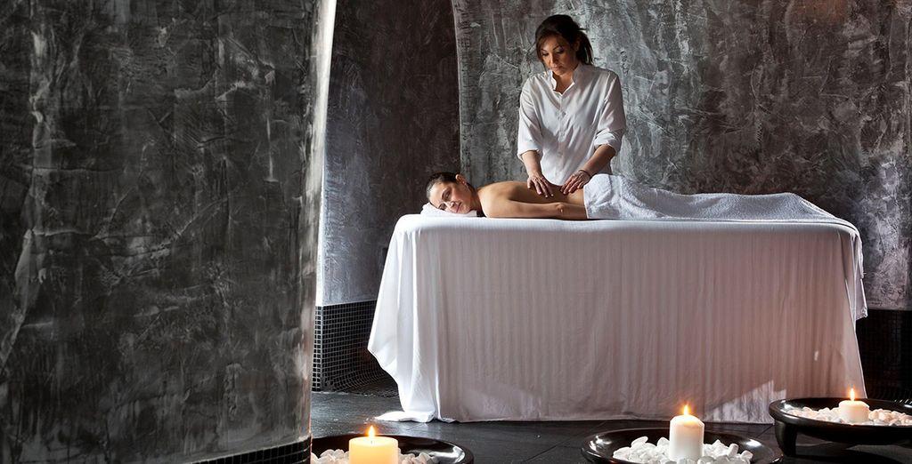 Entspannen Sie sich bei einer Massage