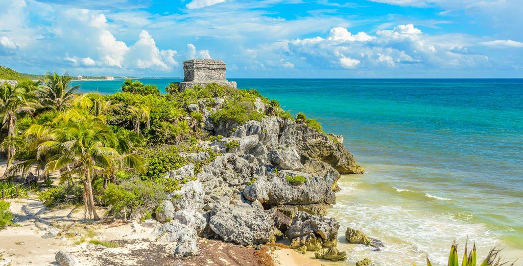 Kommen Sie an die Riviera Maya!