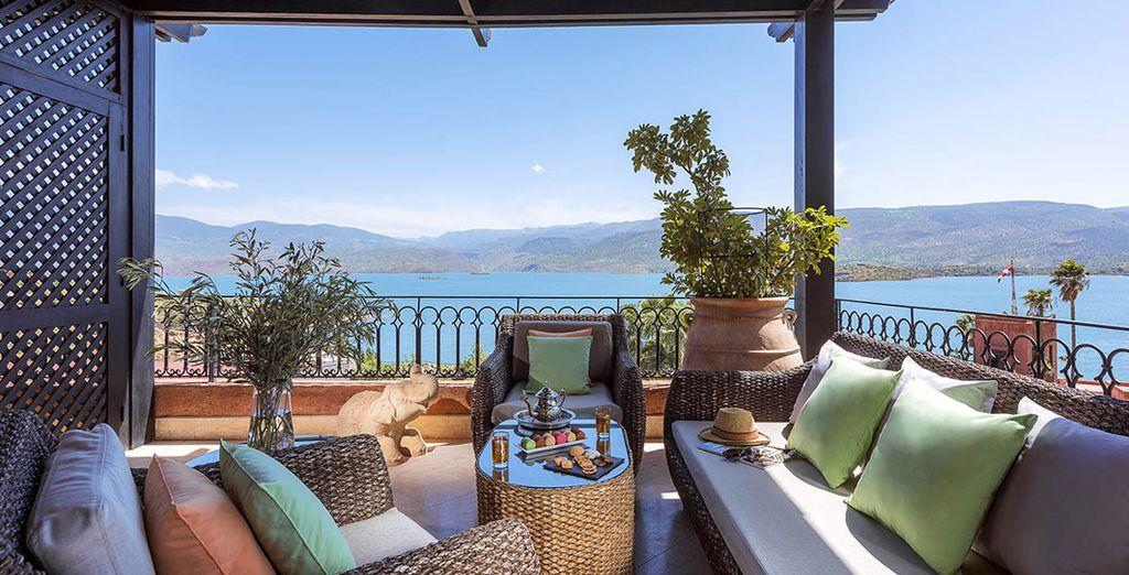 Dieses atemberaubende Resort & Spa liegt inmitten unberührter Natur