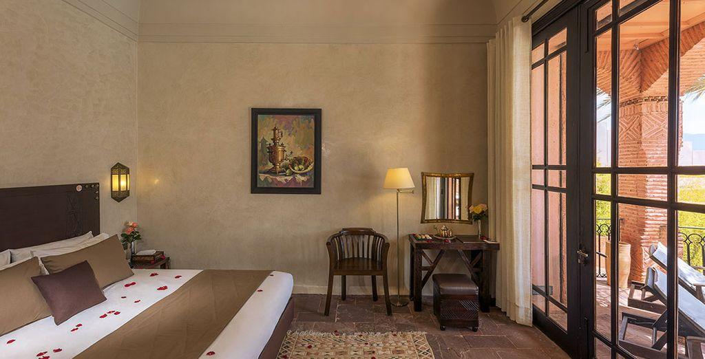 Kommen Sie in einem luxuriösen Superior Zimmer unter